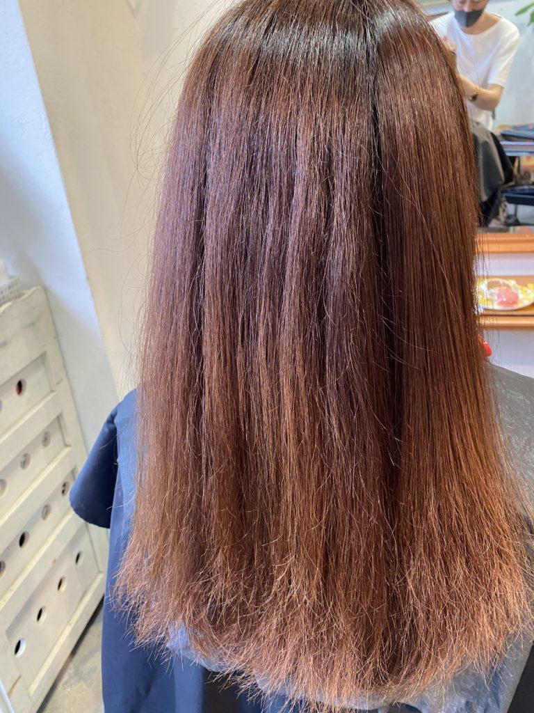 2019/3に初めて来られたときのお客様の髪の状態